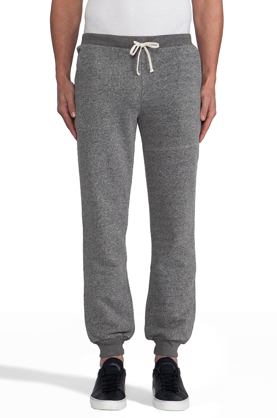 United Stock Dry Goods French Terry Sweatpants in Gray