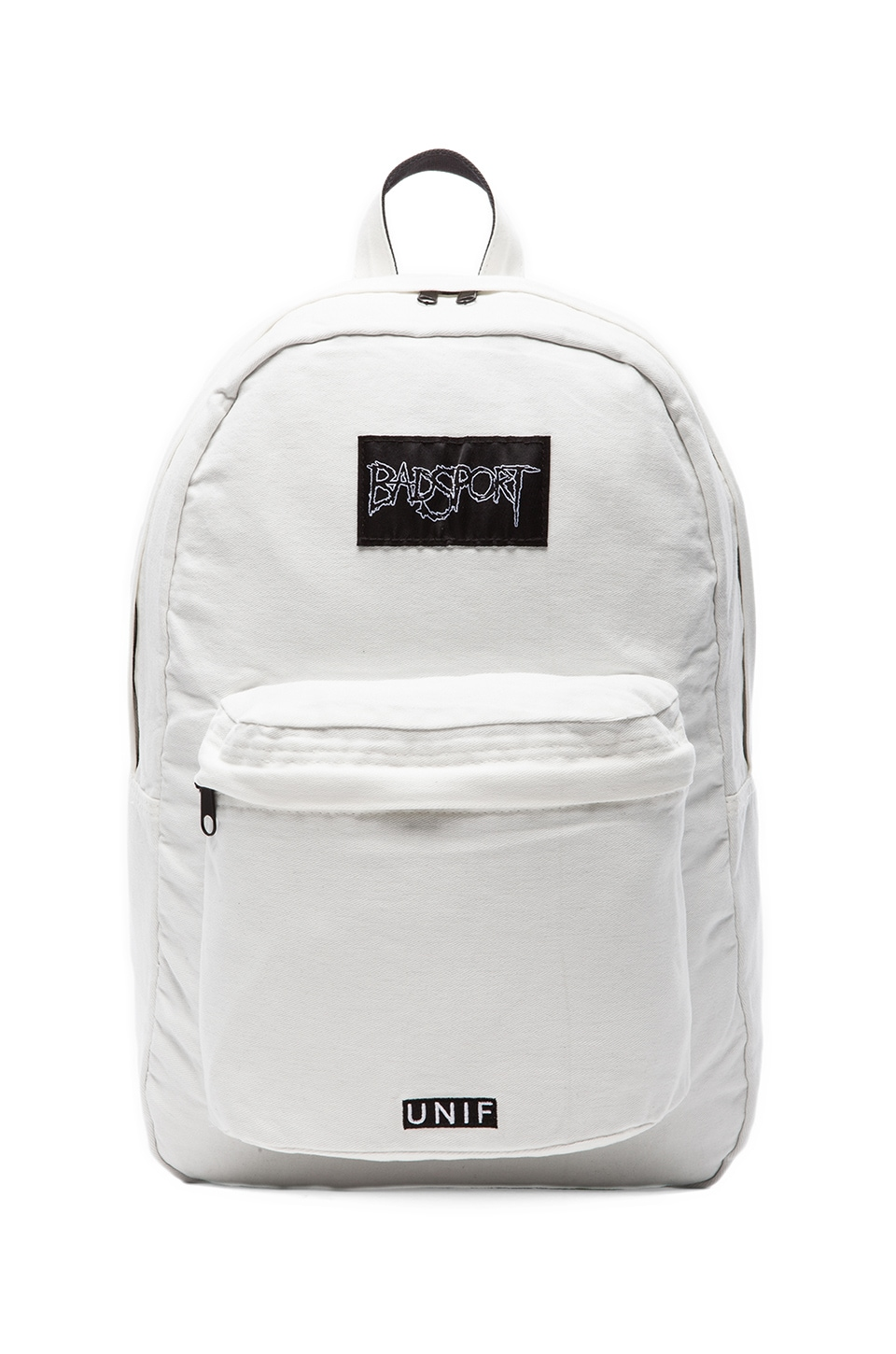 UNIF Badsport Backpack in Off White