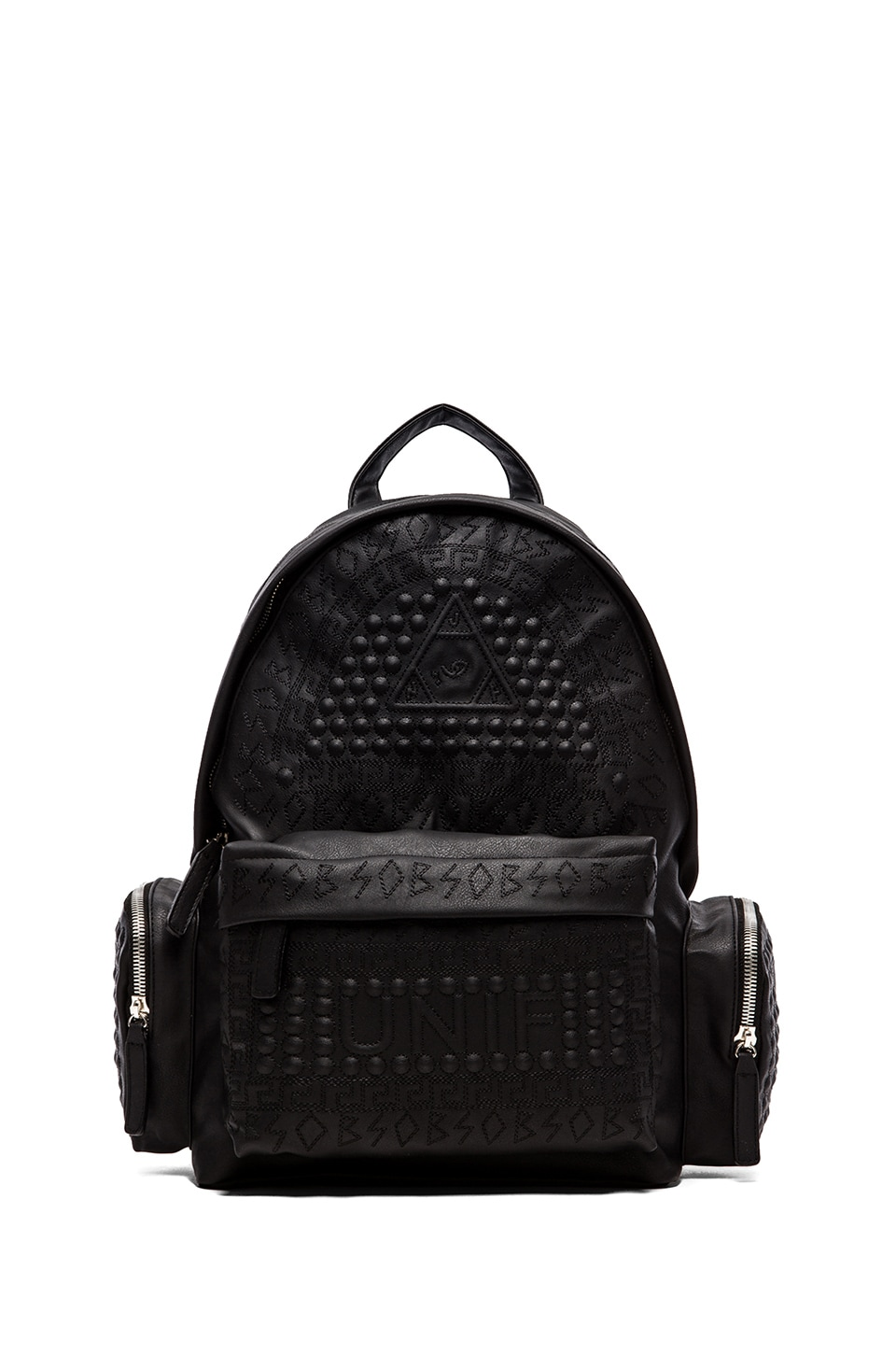 UNIF Braille Backpack in Black