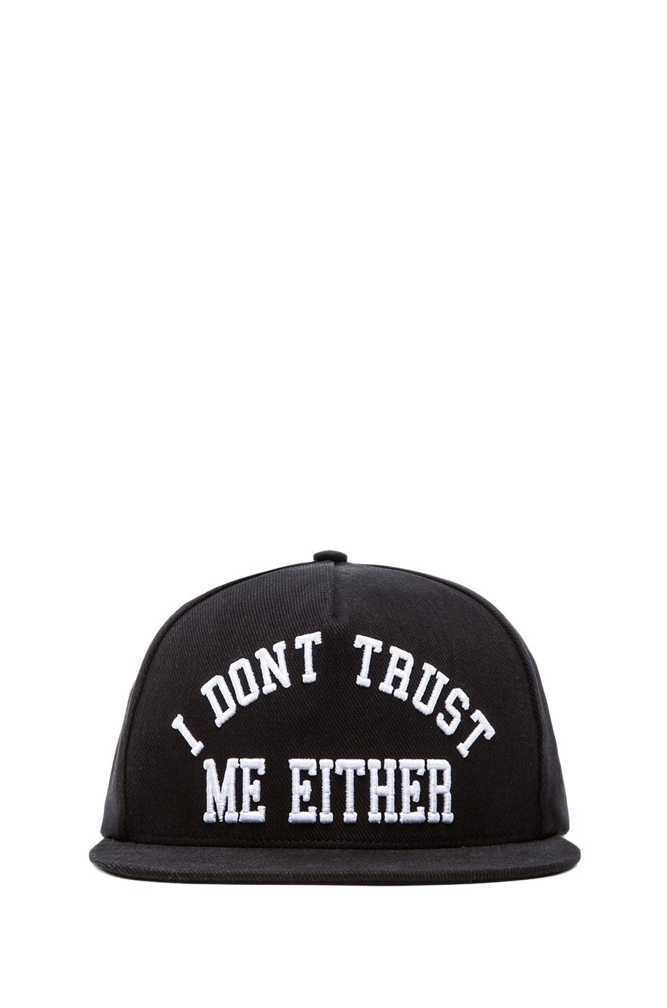 UNIF I Don't Trust Me Hat in Black