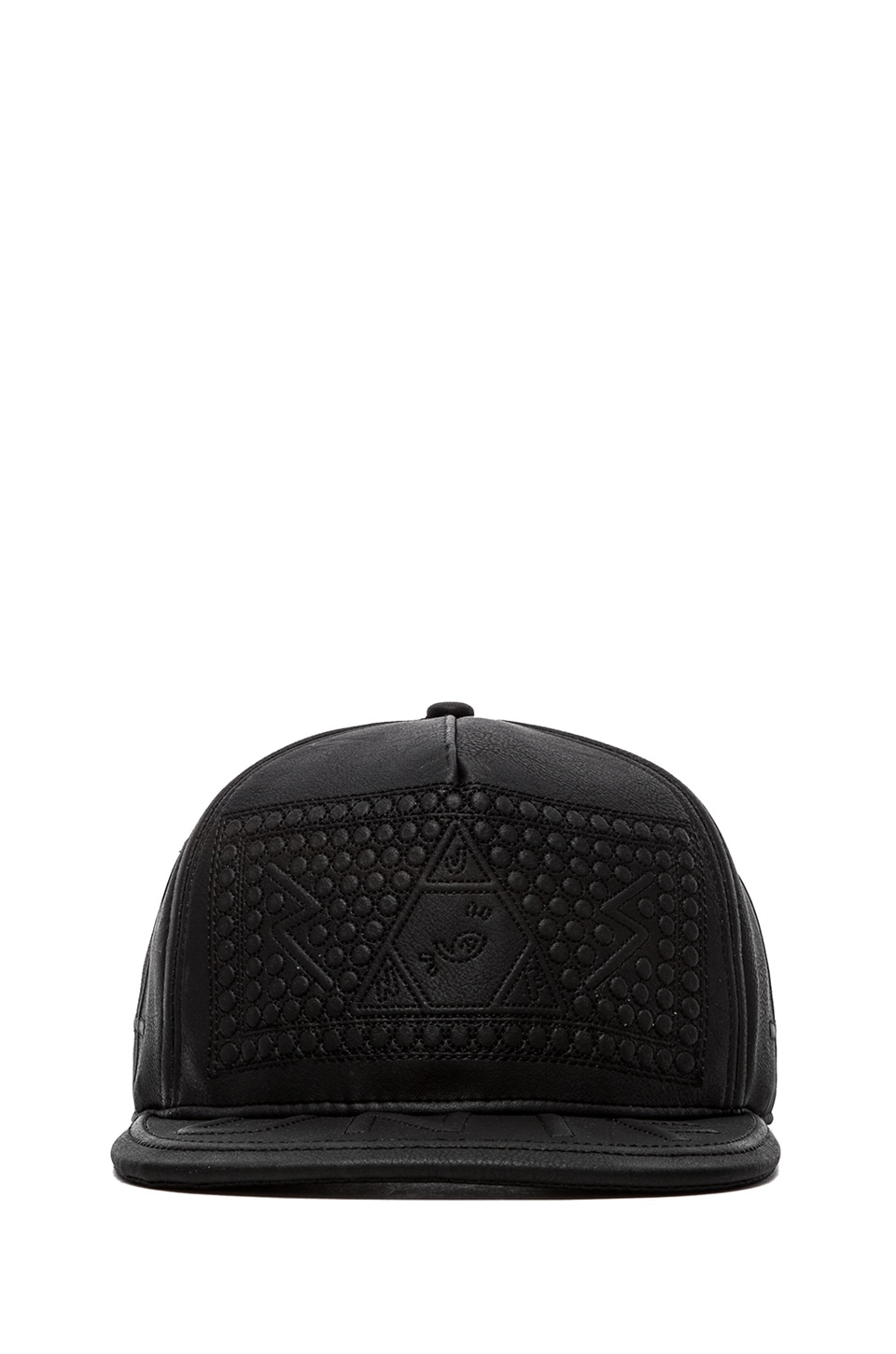 UNIF Braille Hat in Black
