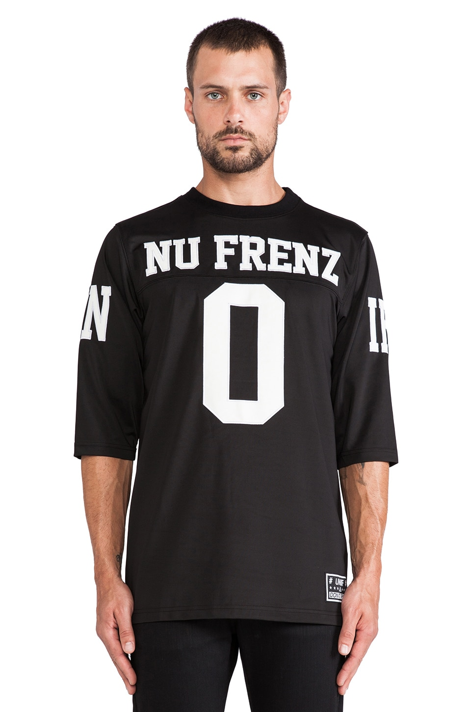 UNIF No New Frenz Jersey in Black