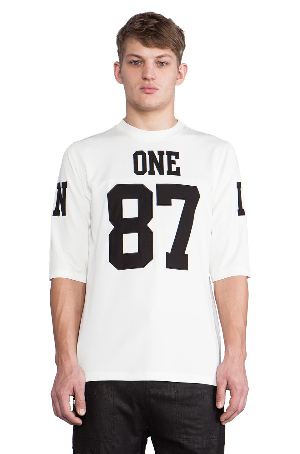 UNIF 187 Jersey in White