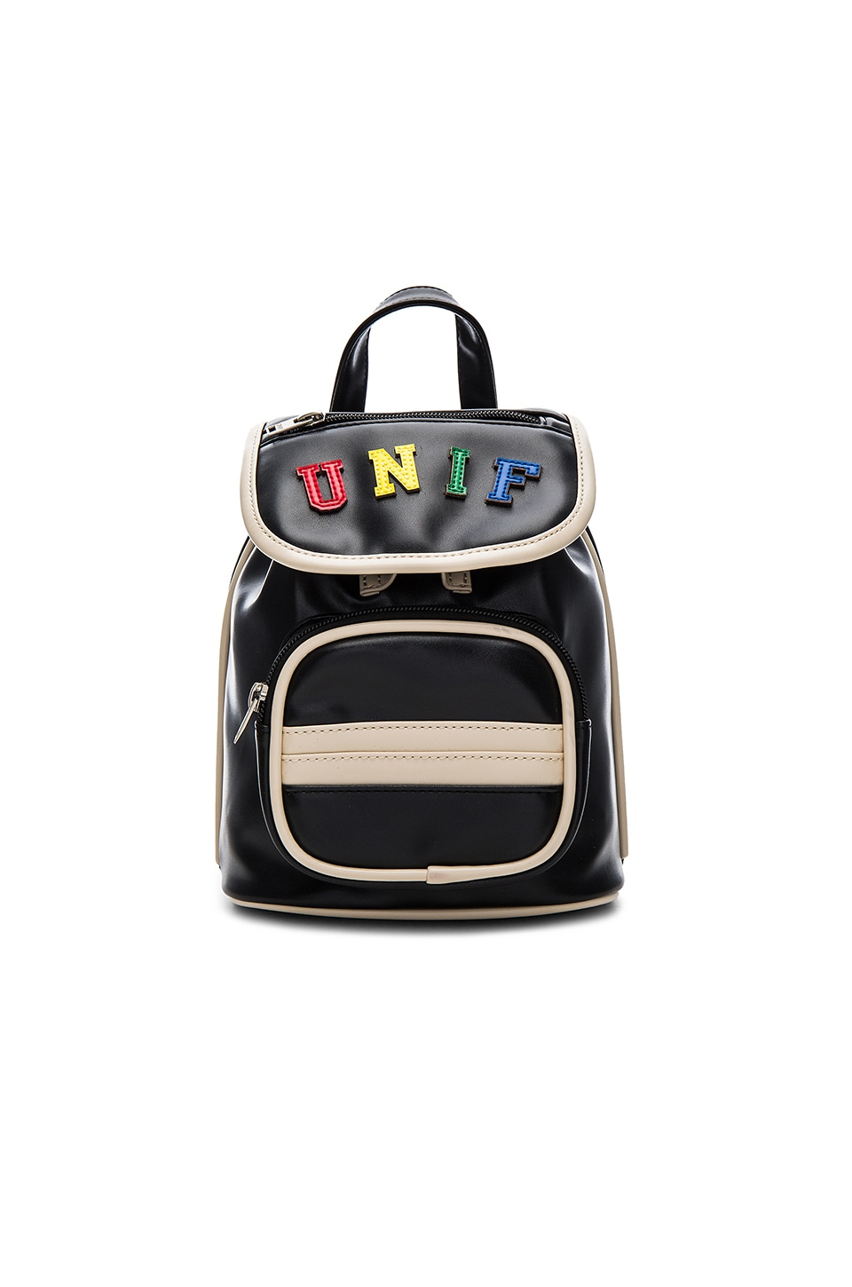 UNIF Crayola Backpack in Black & Multi