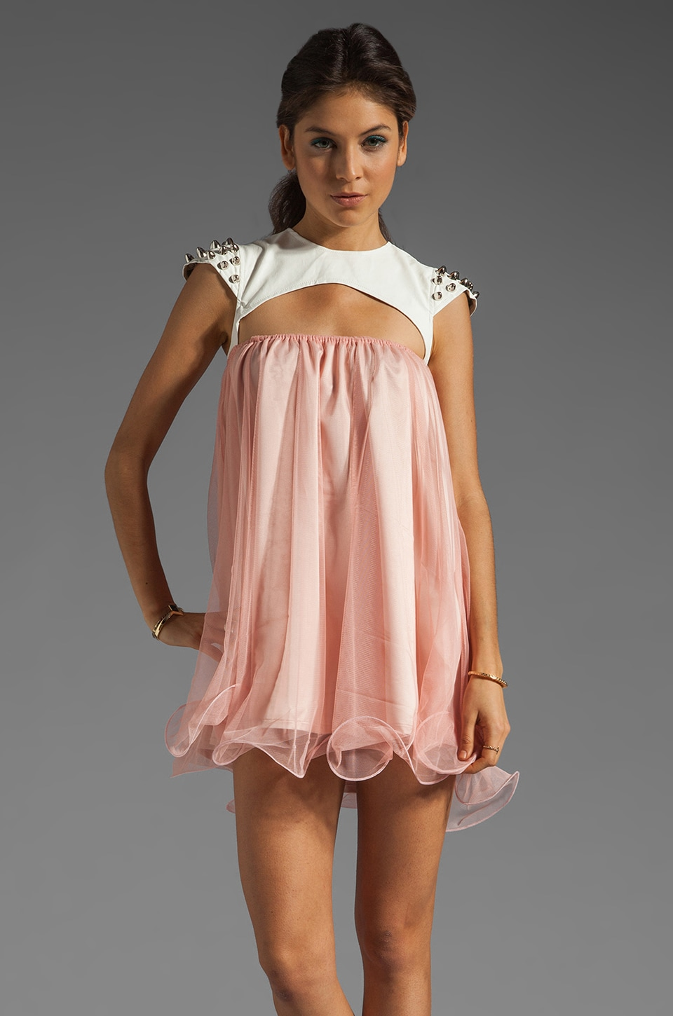 UNIF Omen Dress in Pink