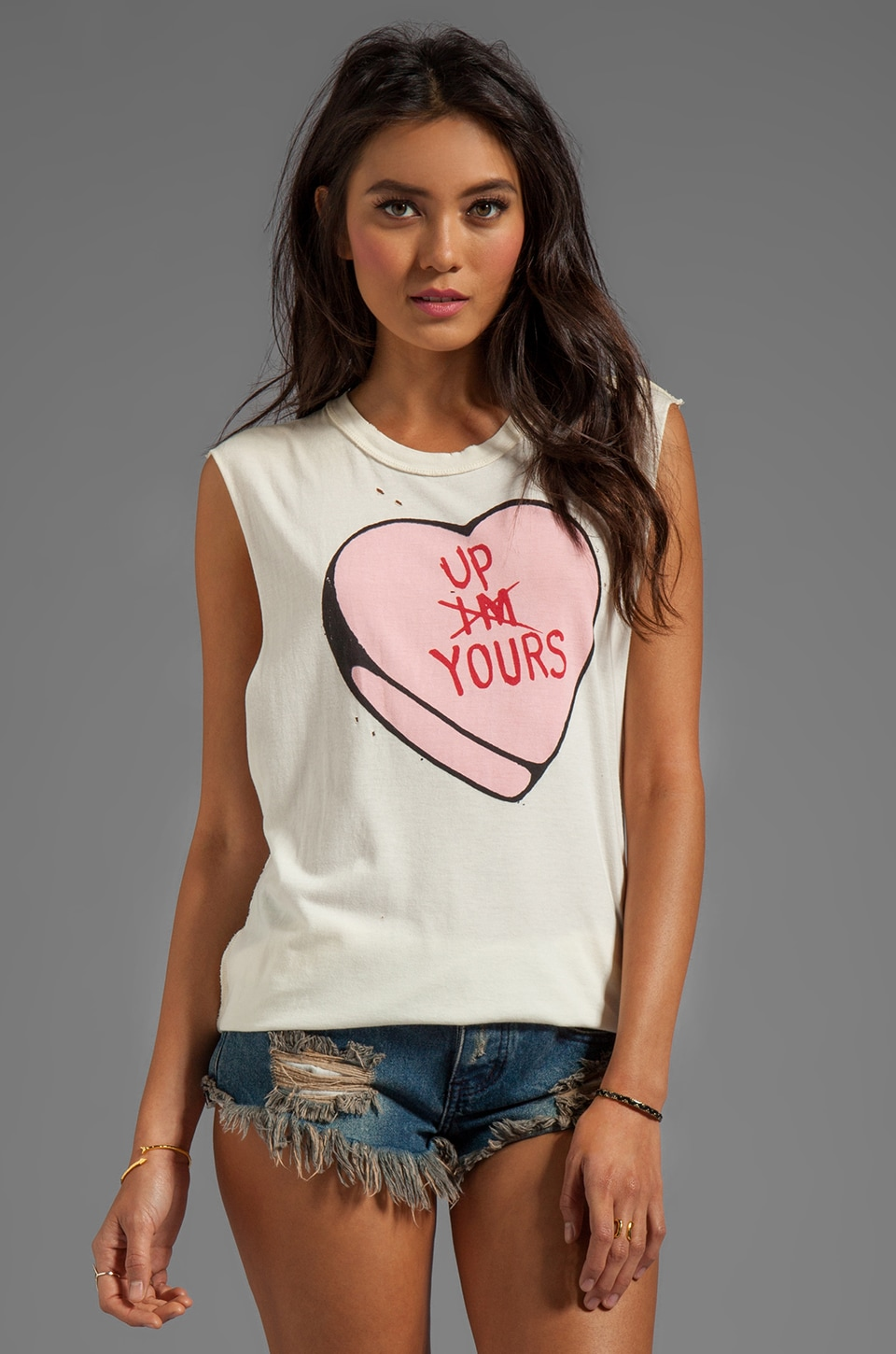 UNIF Up Yours Tank in White