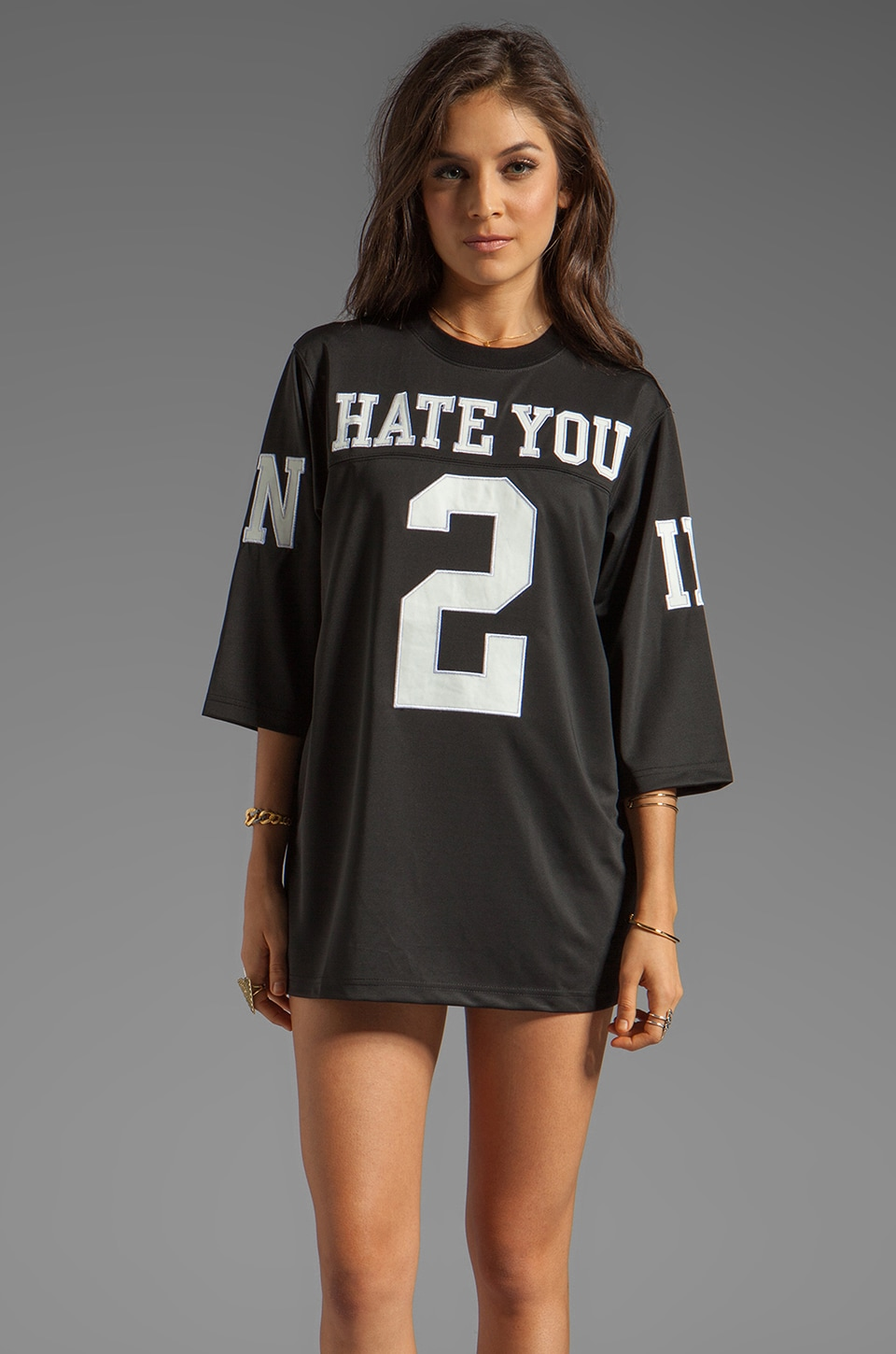 UNIF Hate Jersey in Black