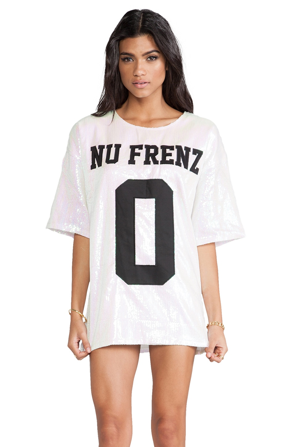 UNIF No Nu Frenz Dress in Sequins Multi
