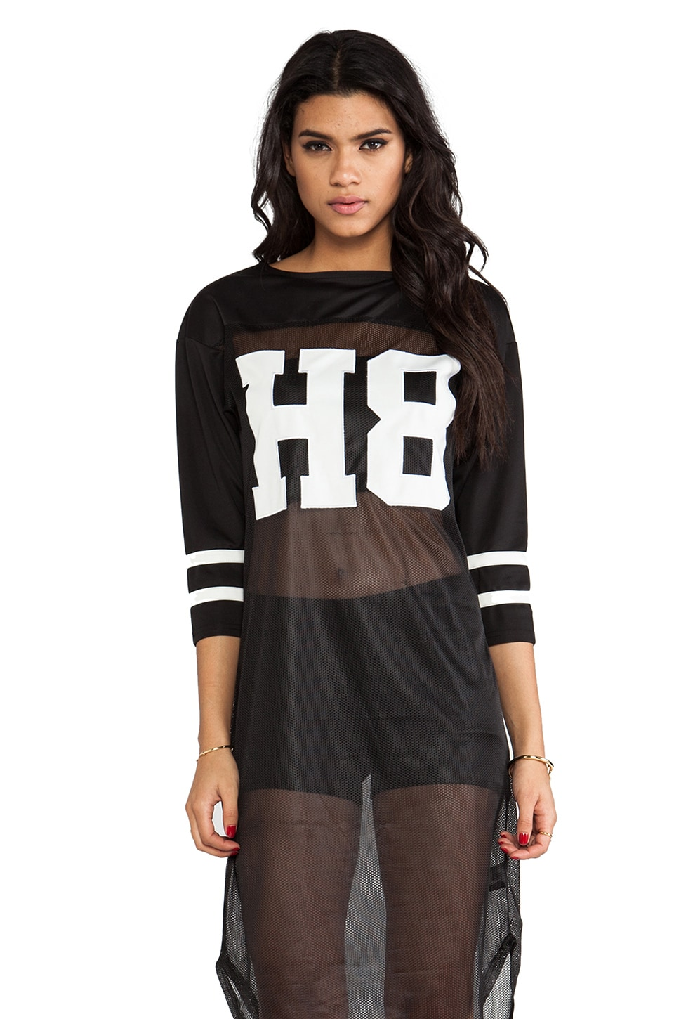 UNIF H8 Jersey Dress in Black