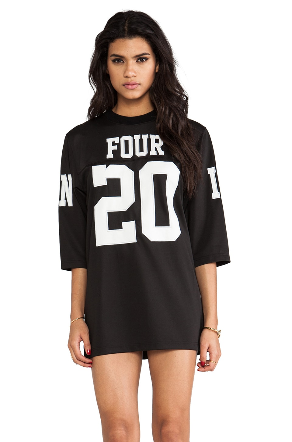 UNIF 420 Jersey Dress in Black