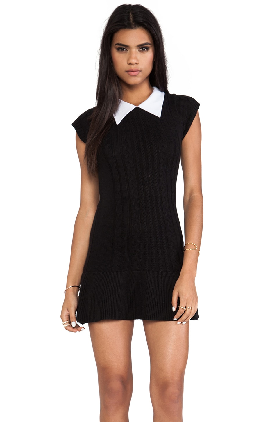 UNIF Licit Dress in Black