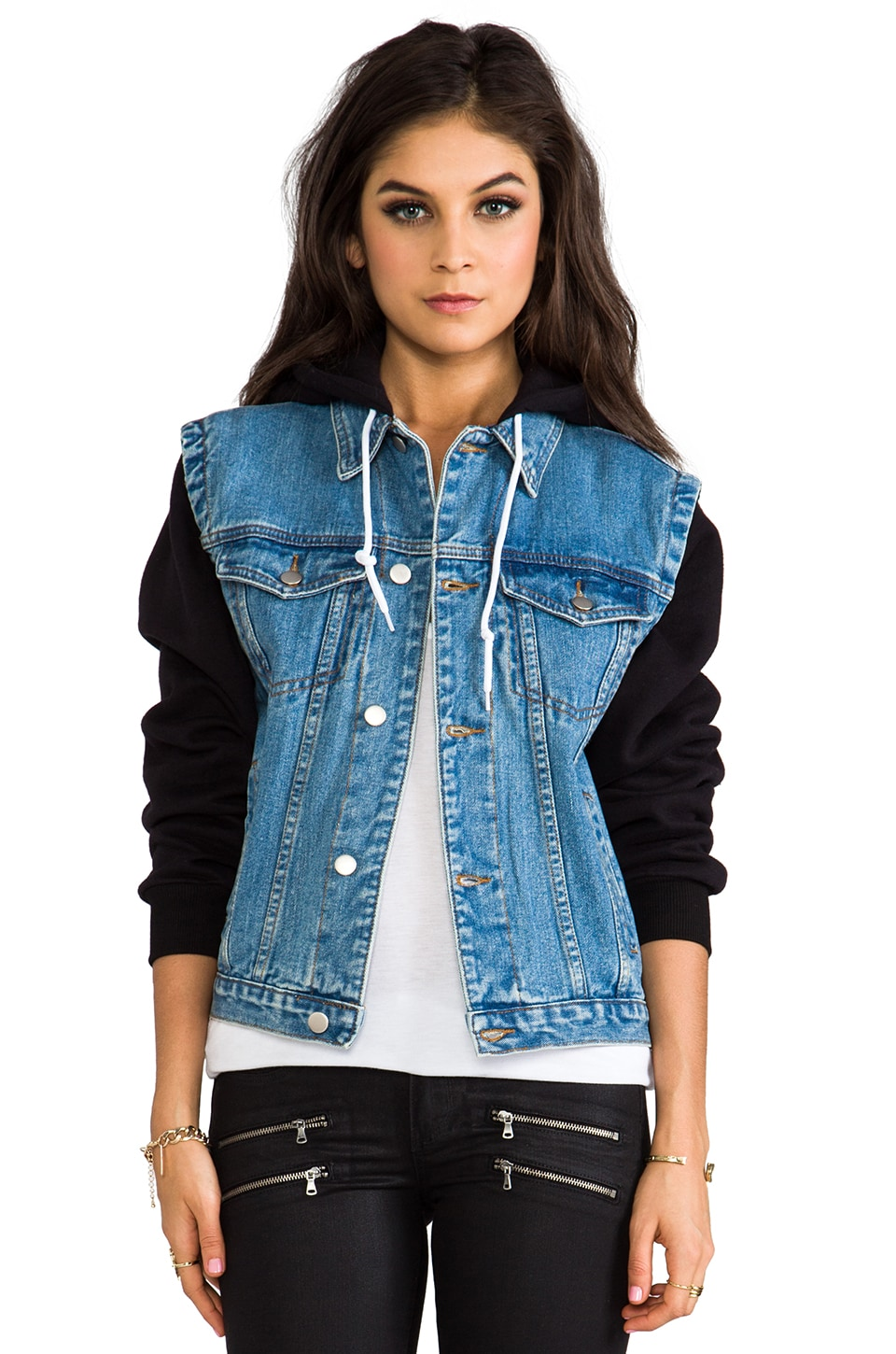 UNIF No You Jacket Jacket in Blue