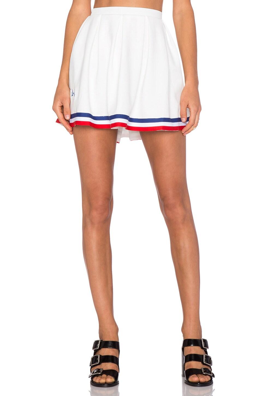 UNIF Squad Skirt in White