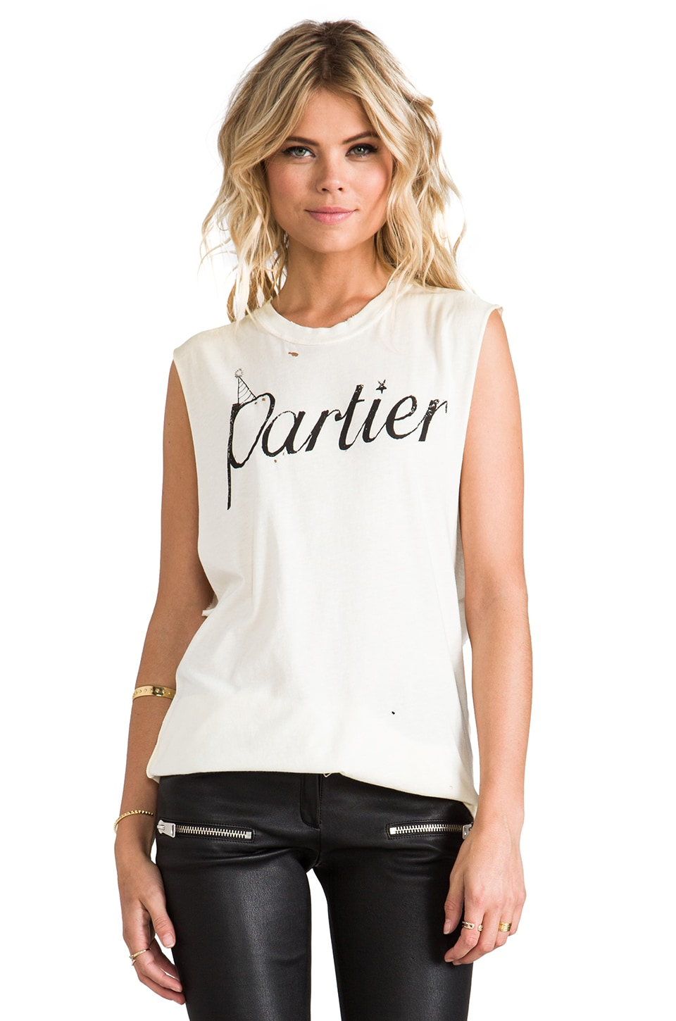 UNIF Exclusive Partier Tank in White