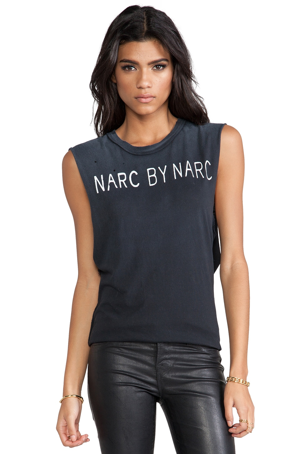 UNIF Narc by Narc Tank in Black