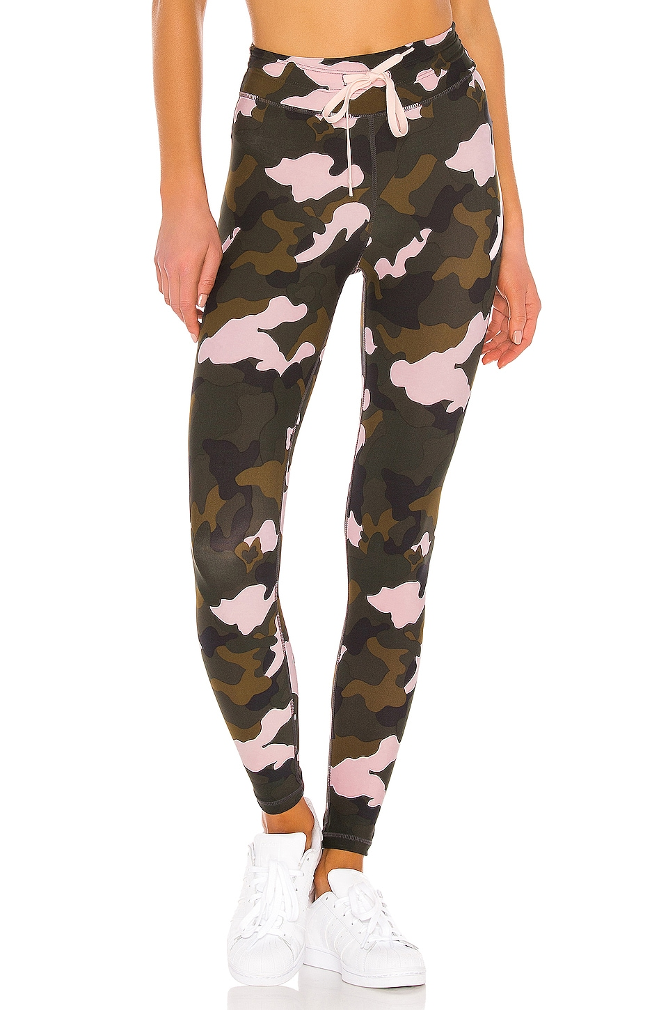 THE UPSIDE Forest Camo Midi Pant in Camo Multi
