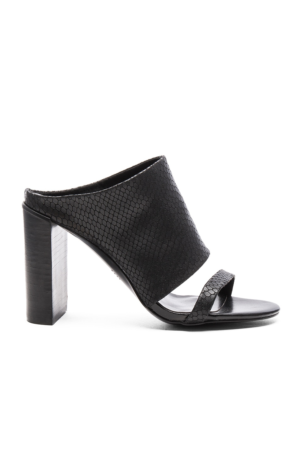 Urge Erica Heel in Black Snake