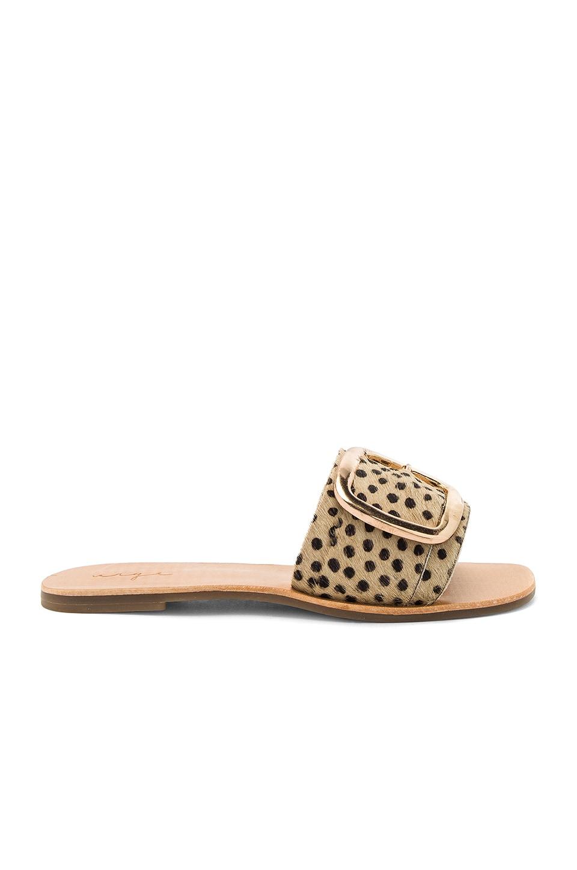 Ajay Calf Hair Sandal by Urge