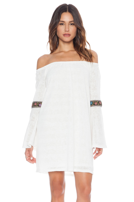 VAVA by Joy Han Kyle Off Shoulder Dress in White