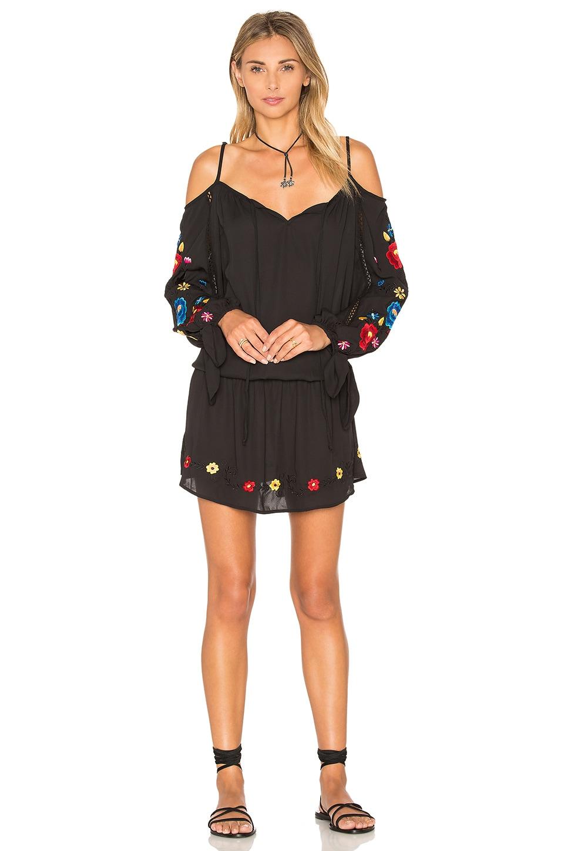 VAVA by Joy Han Kamari Open Shoulder Dress in Black