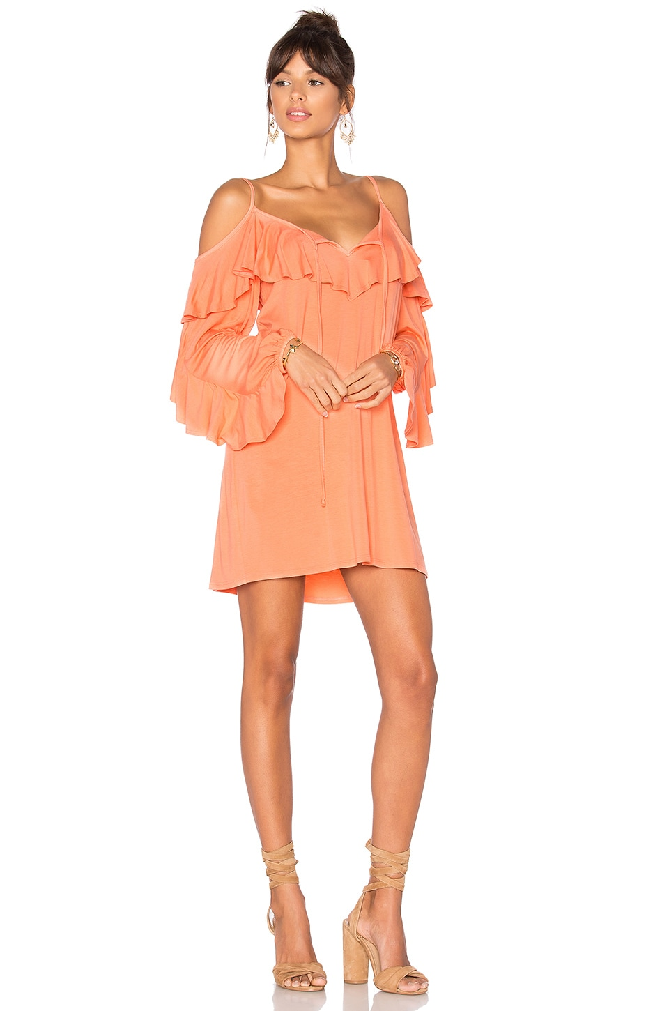 VAVA by Joy Han Shauna Dress in Light Coral