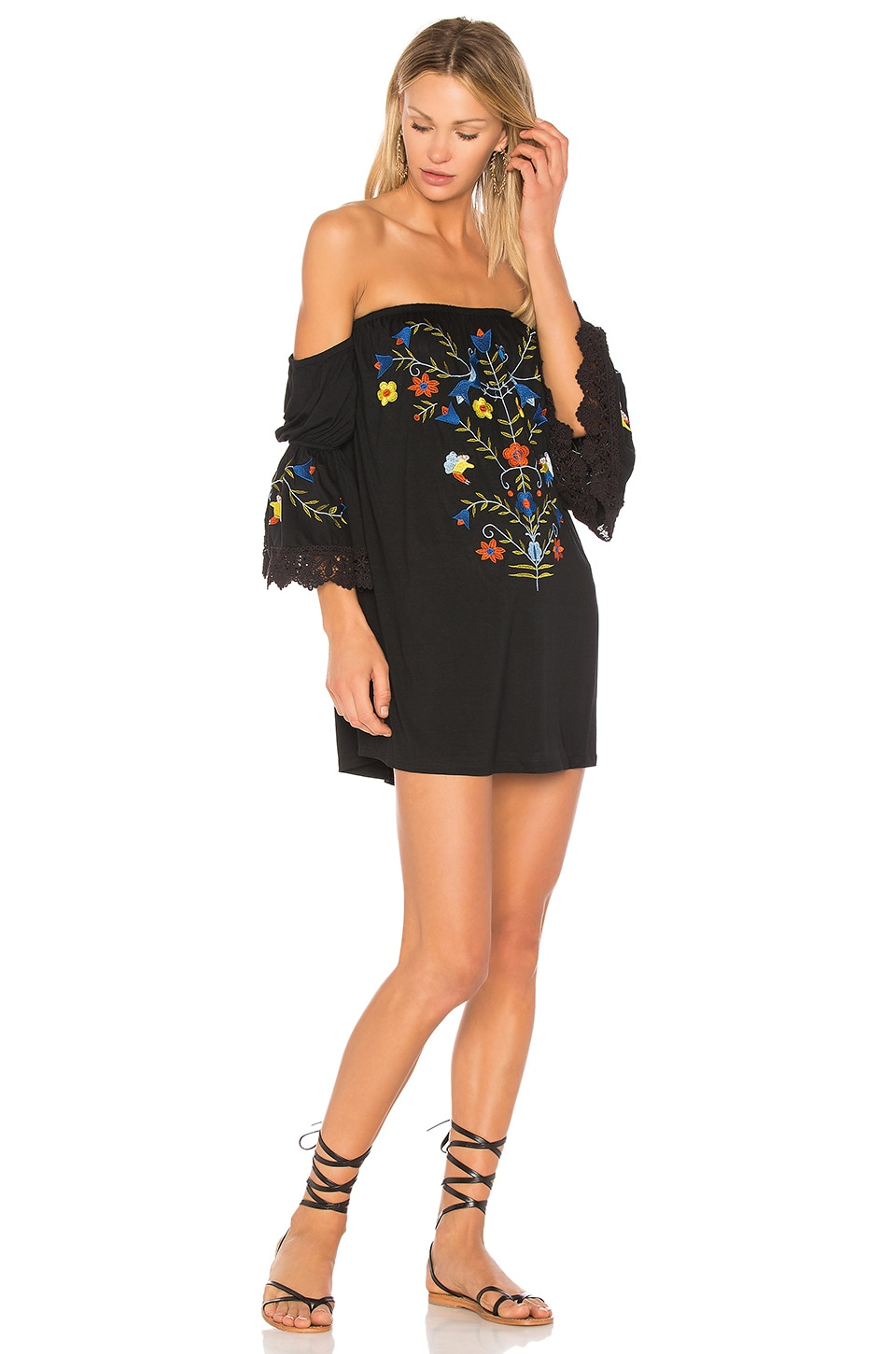 VAVA by Joy Han Fabiola Dress in Black