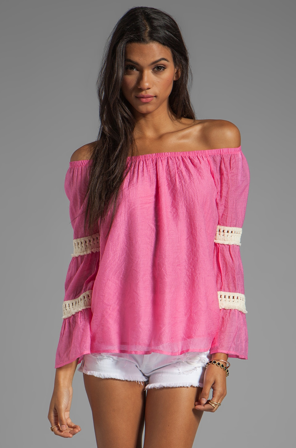 VAVA by Joy Han Lillian Top in Pink