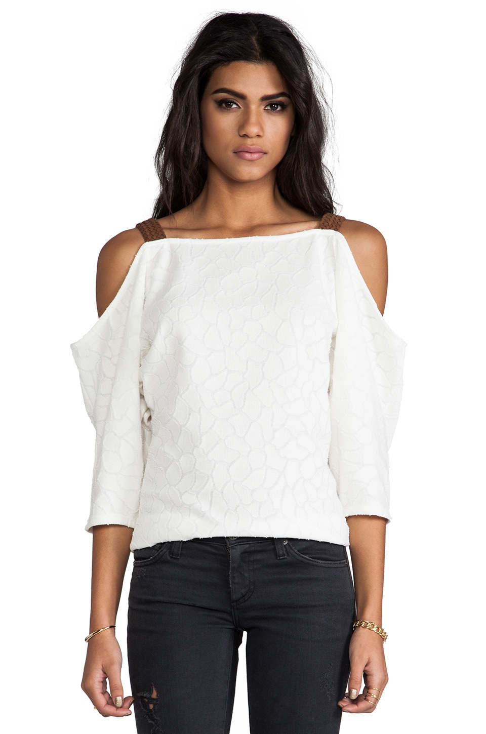 VAVA by Joy Han Wendy Strap Top in White