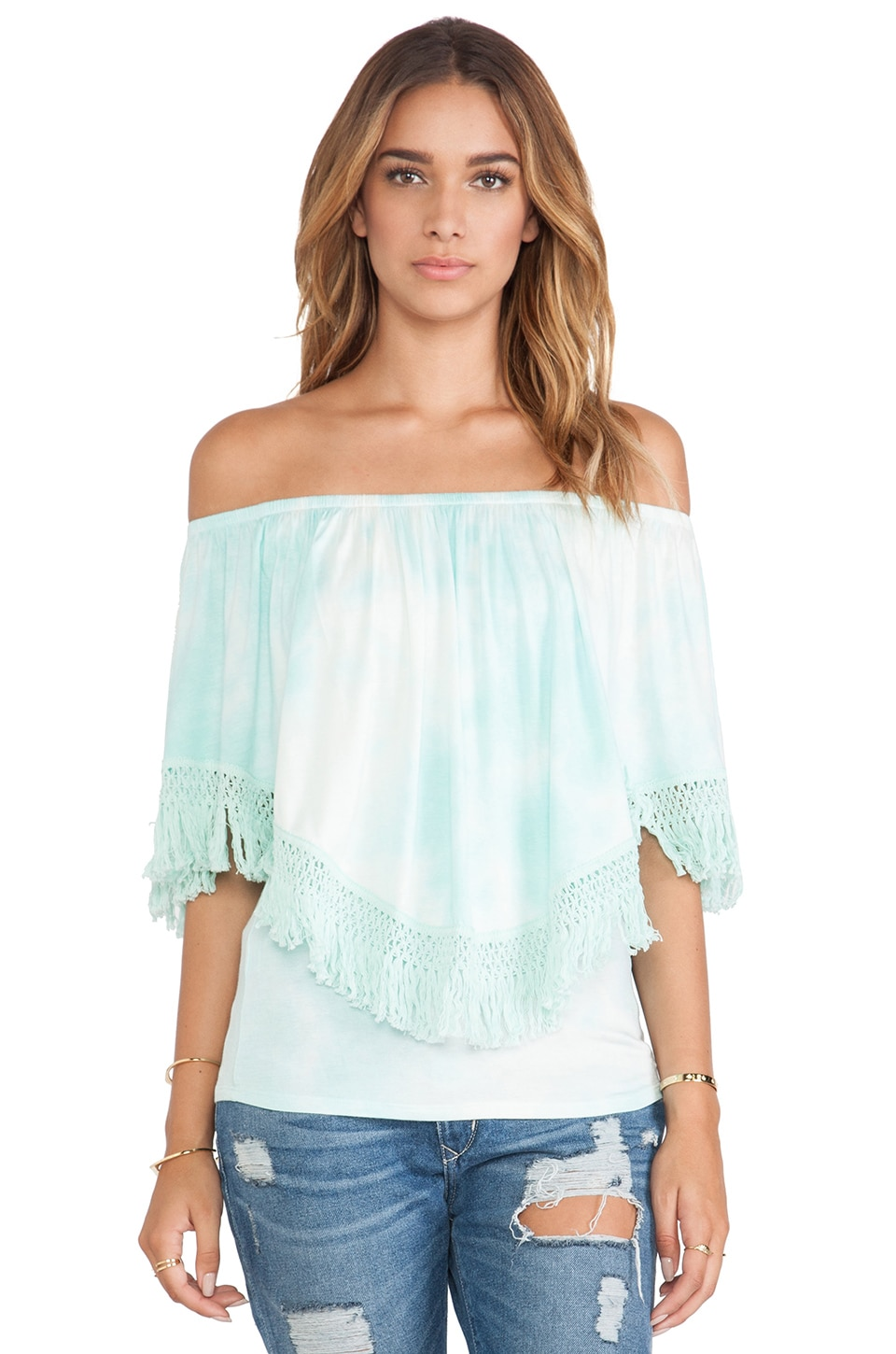 VAVA by Joy Han Mischa Convertible Top in Mint