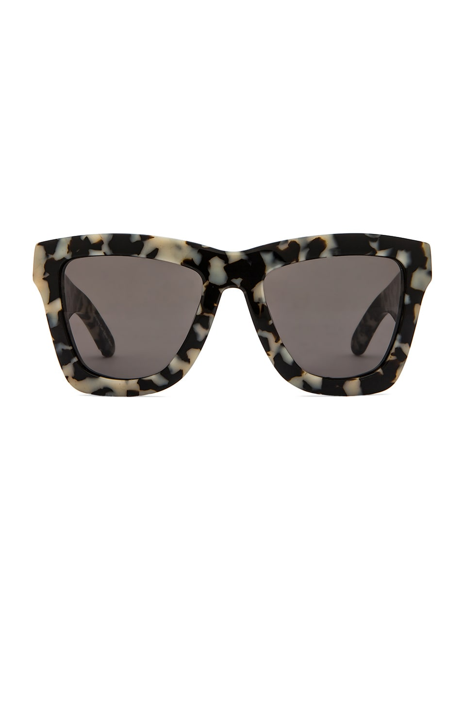 VALLEY EYEWEAR DB in Snow Leopard Tort &  Black Lens
