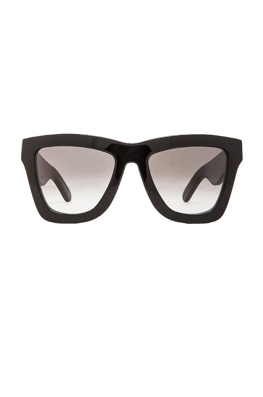 VALLEY EYEWEAR DB in Gloss Black & Black Gradient
