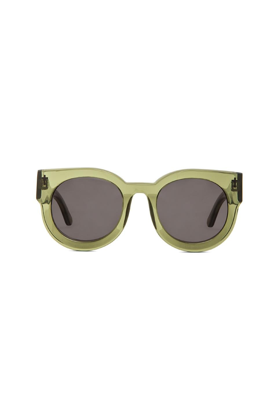 VALLEY EYEWEAR A Dead Coffin Club in Army Green & Black Lens
