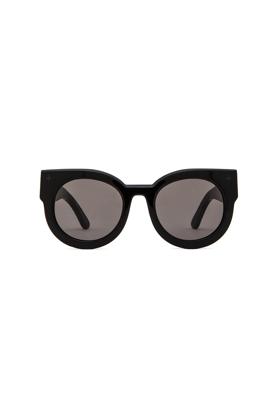 VALLEY EYEWEAR A Dead Coffin Club in Gloss Black & Black Lens