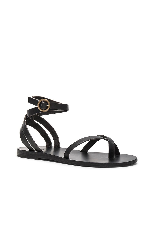 VALIA GABRIEL Malabar Sandal In Black.