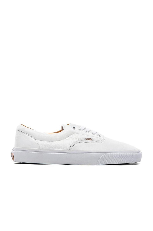 bfa5444ad153 Vans Era in Premium Leather True White