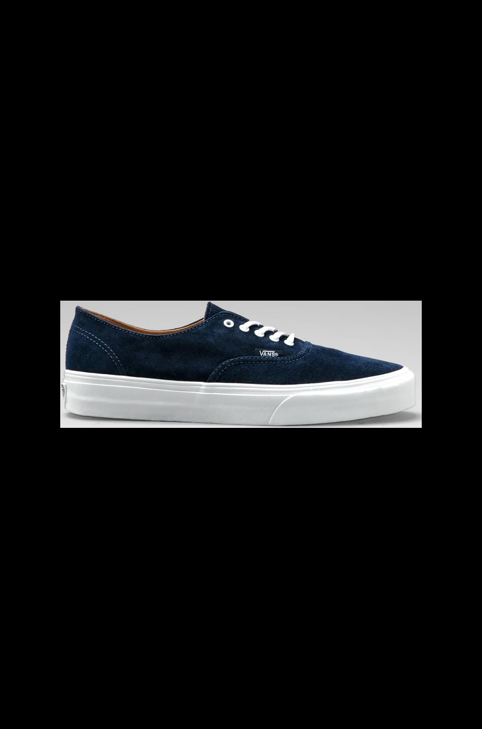 Vans California Authentic Decon Buck in Dress Blues