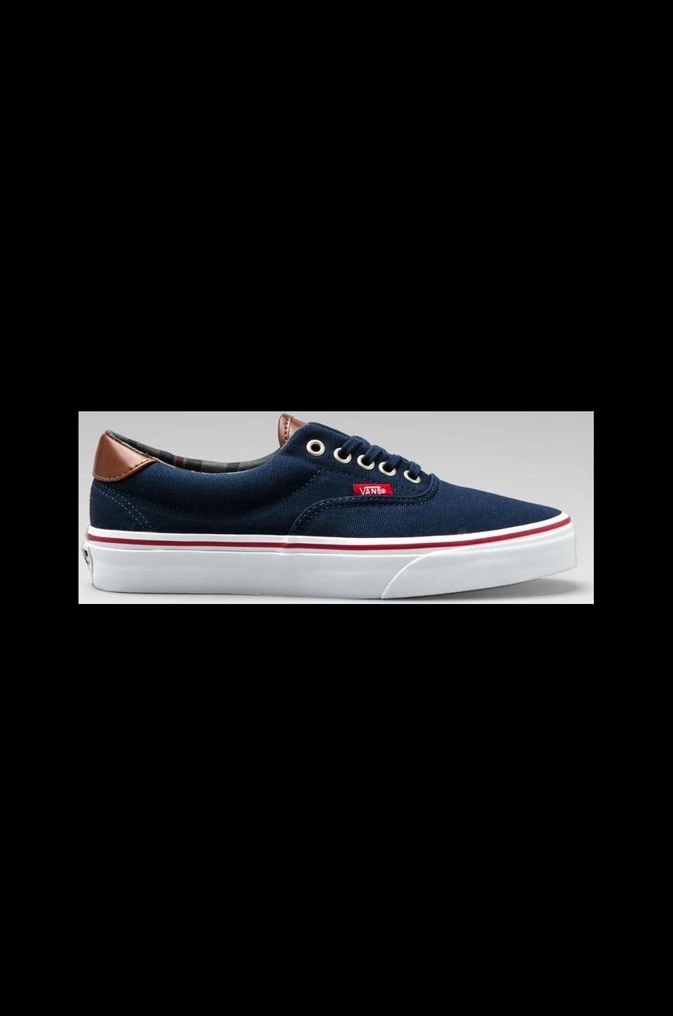 Vans Era 59 in Navy/Stripes
