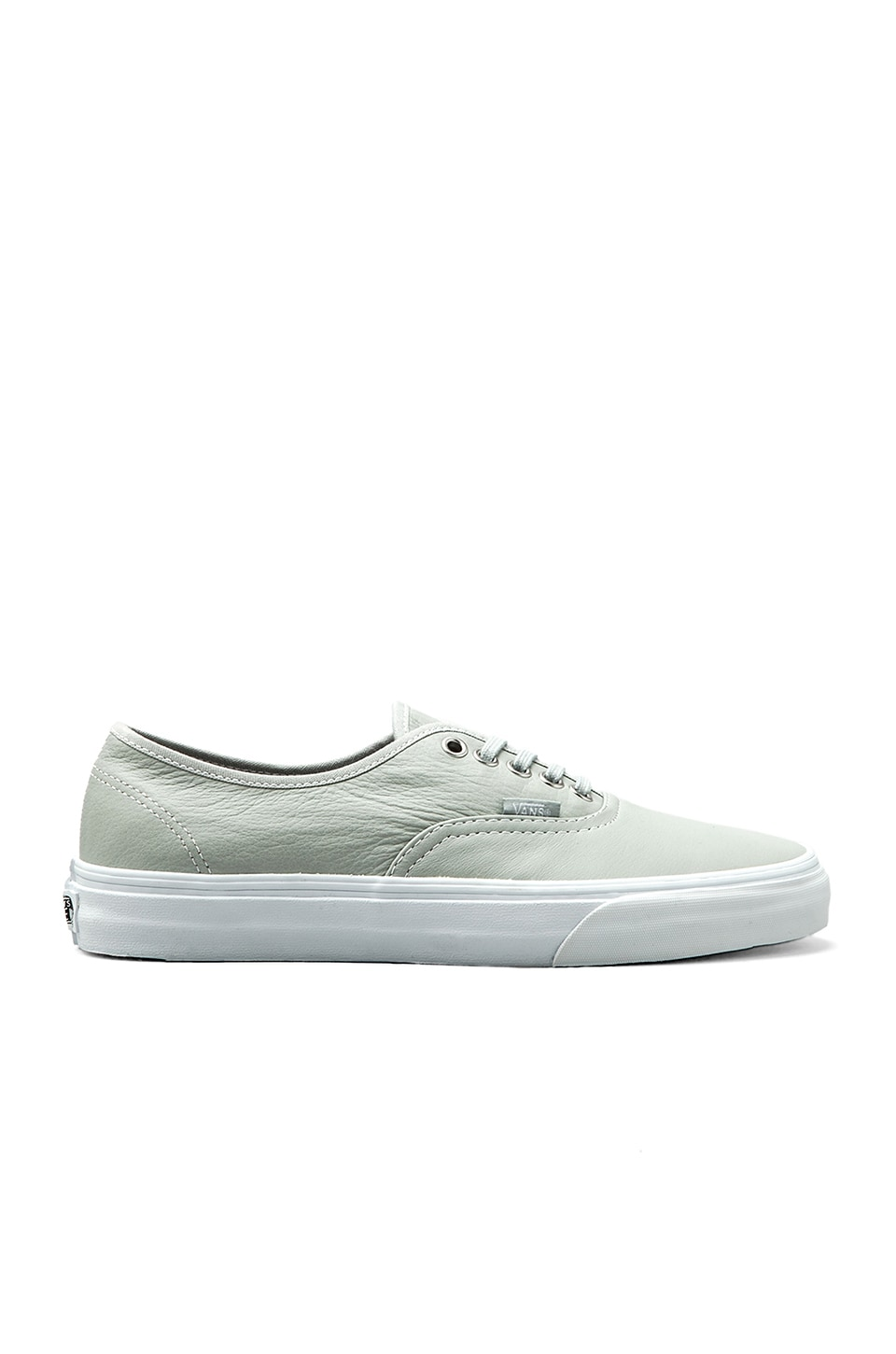 Vans Authentic Aged Leather in Mirage Gray