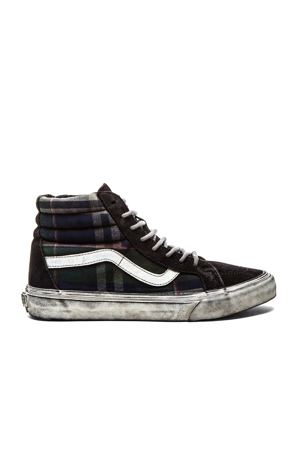online store 086eb b92ac Vans California SK8 Hi Reissue Over Washed Plaid in Nine ...