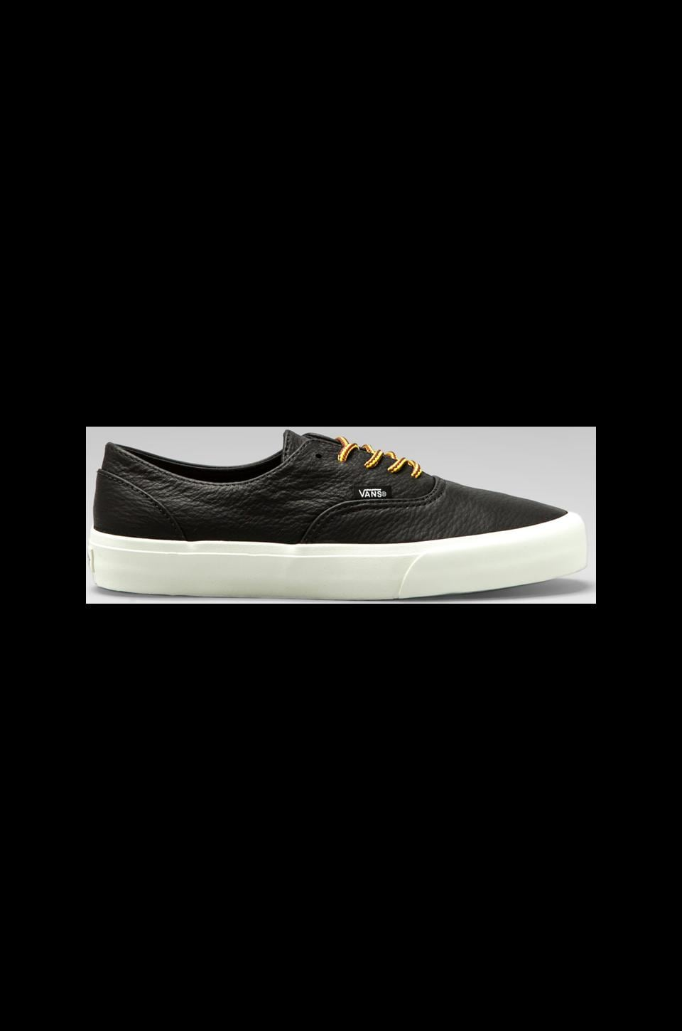 Vans California Era Decon Leather in Black/Vanilla Ice
