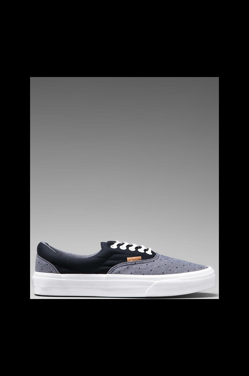 Vans California Era in Chambray Polka Dress Blues