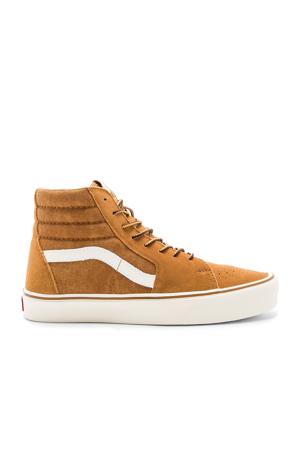Vans SK8 Hi Lite in Cathay Spice & Classic White