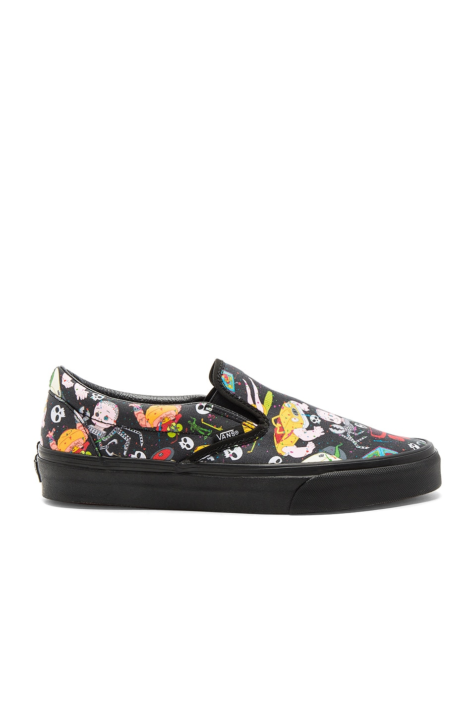 Vans Toy Story Classic Slip On in Sids Mutants & Black