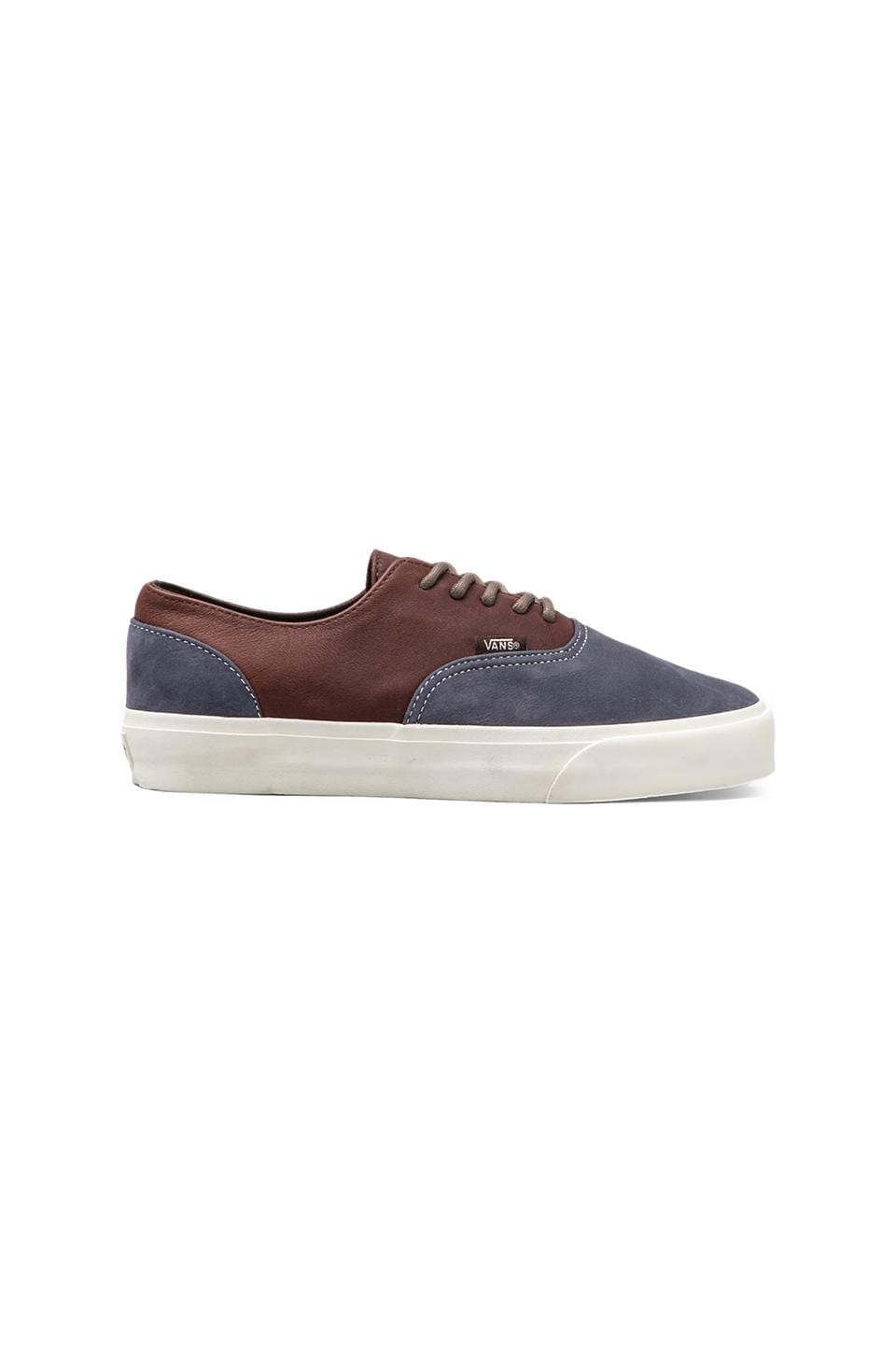 Vans California Era Decon in Blue/Chocolate Brown