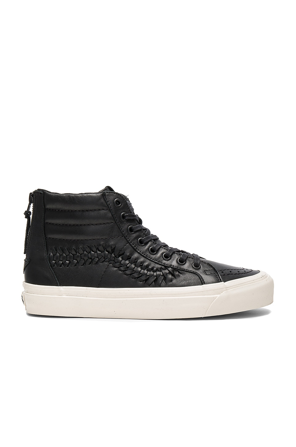 Photo of SK8 Hi Zip Weave DX by Vans men clothes