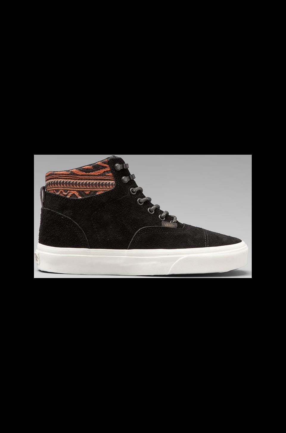 Vans California Era Hi in Black/Inca