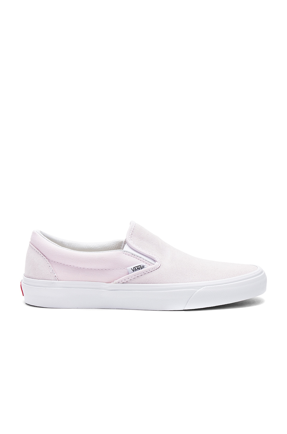 Vans Pastel Classic Slip On in Orchid Ice & True White