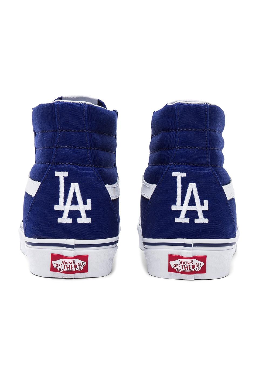 c1a9acbec46 Vans SK8 Hi LA Dodgers in Los Angeles Dodgers Blue