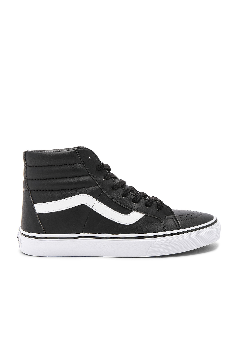 Vans SK8 Hi Reissue in Black & True White