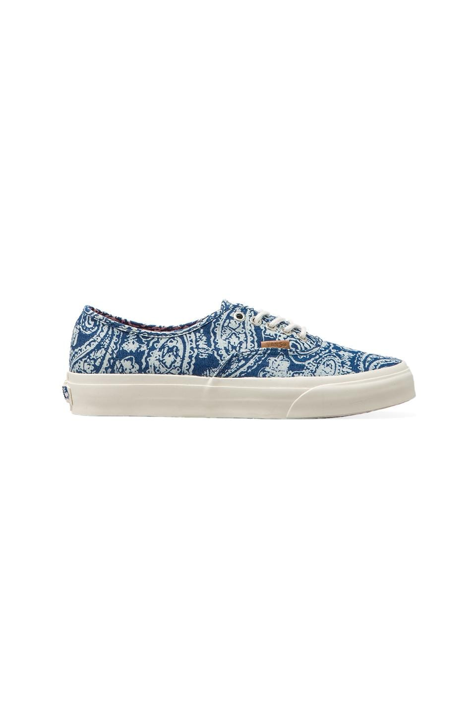 Vans California Authentic Paisley in Limoges